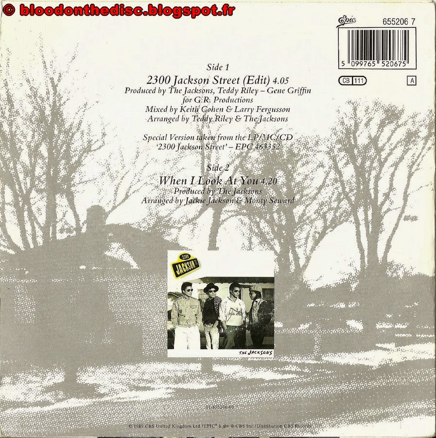 2300 Jackson Street 45T Back Cover