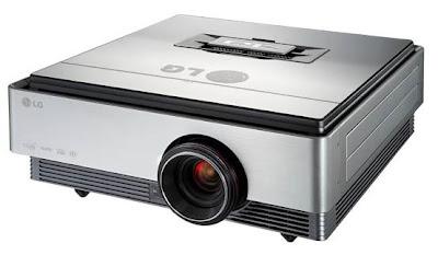 LG CF3D LED Projectors