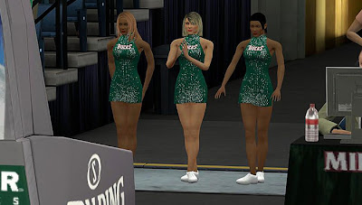 NBA 2K13 Milwaukee Bucks Crowd Fix - Cheerleaders Patches
