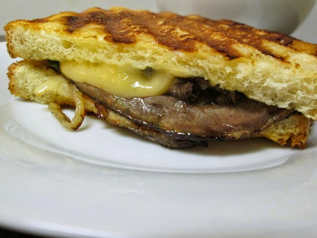 roast beef and smoked gouda