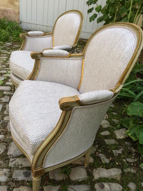 corine kern tapissier bergeres louis xvi. Black Bedroom Furniture Sets. Home Design Ideas