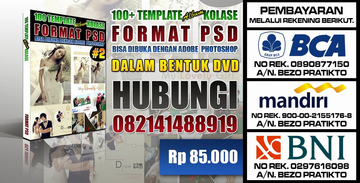 ISI DIDALAM DVD TEMPLATE ALBUM KOLASE FORMAT PSD VOLUME-2,