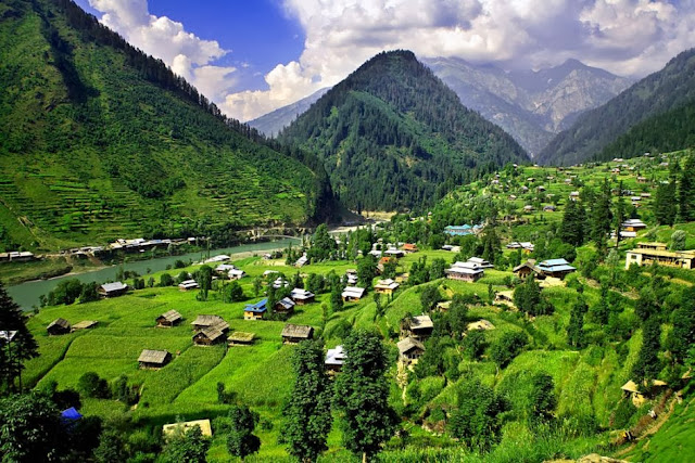 Foto Desa Lembah Kashmir Indah @ Digaleri.com