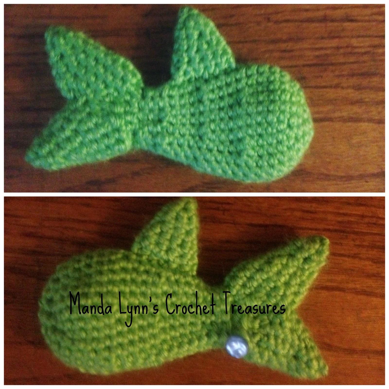 MandaLynn\'s Crochet Treasures : Catnip Fishy - free pattern