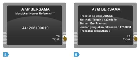 Cara Transfer Saldo Uang di ATM Bersama