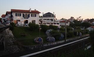 Estación de tren en Guéthary