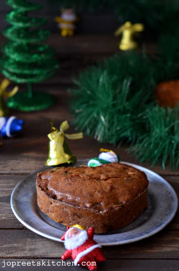 Christmas Fruit Cake Plum Cake No Alcohol Version
