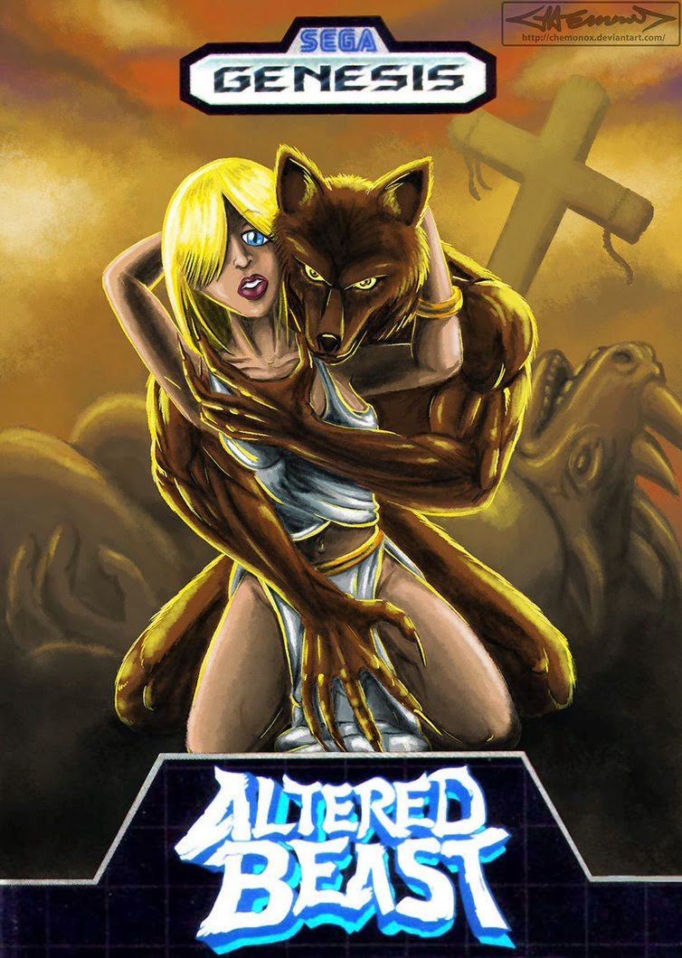 Cultural compulsive disorder revisiting video game for Altered beast
