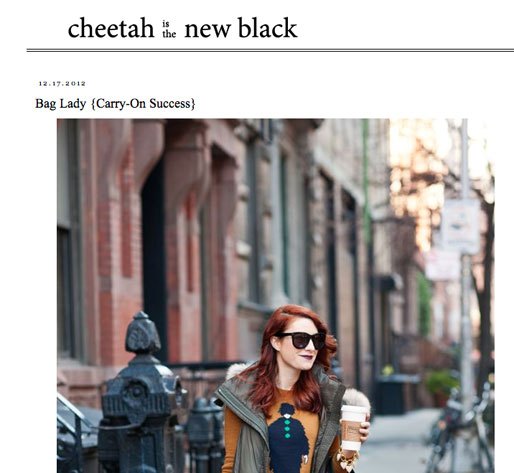 a style of your own blog, girl crush, cheetah is the new black