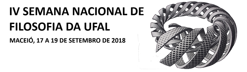 IV SEMANA NACIONAL DE FILOSOFIA DA UFAL