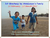 1'st giveaway by annaleeya family
