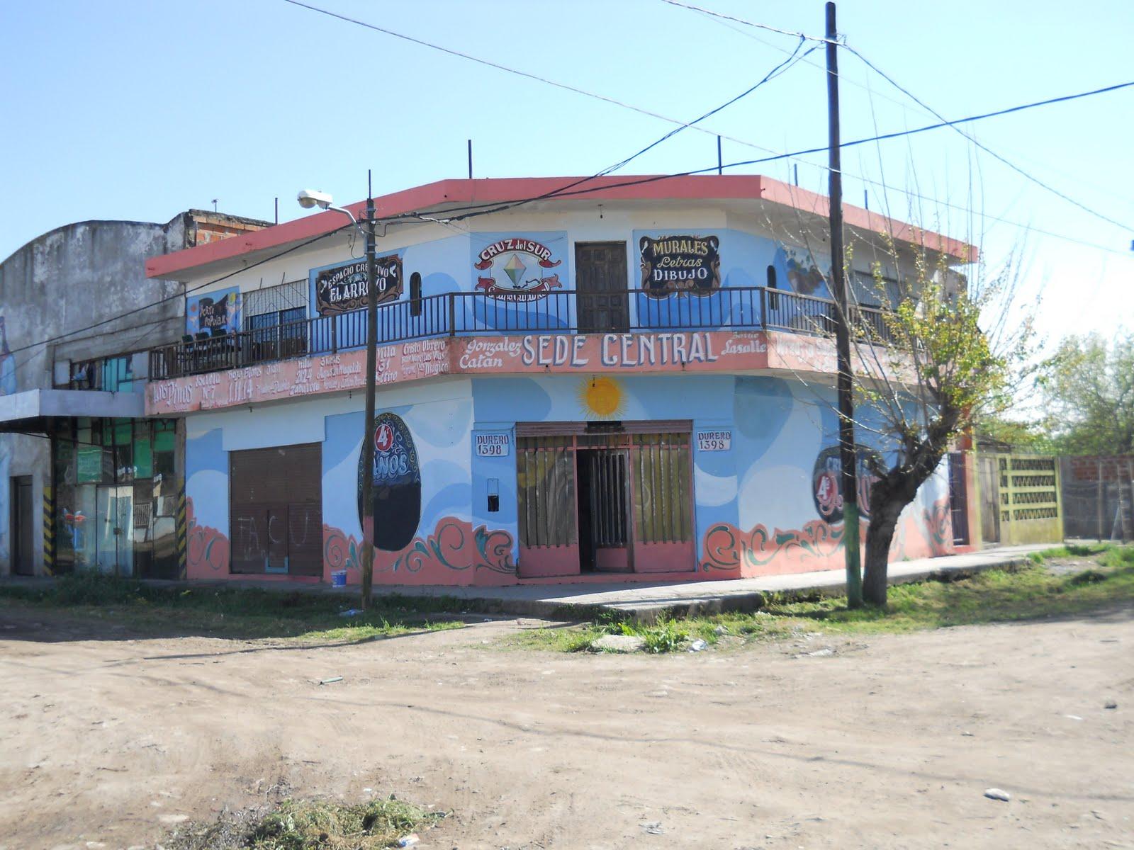 GRUPO CULTURAL CRUZ DEL SUR: Feliz cumple Espacio Creativo El Arroyo ...