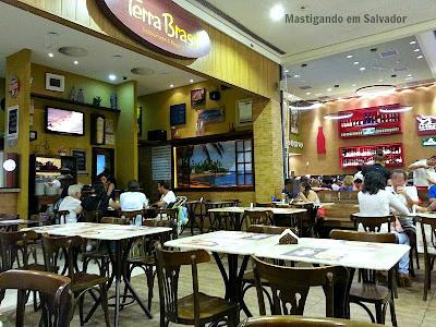 Terra Brasil Restaurante & Choperia: Ambiente