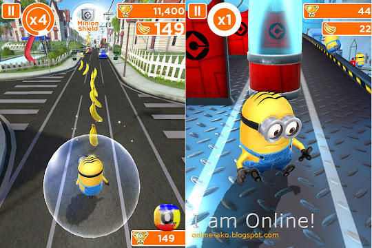 Despicable Me: Minion Rush Gameplay