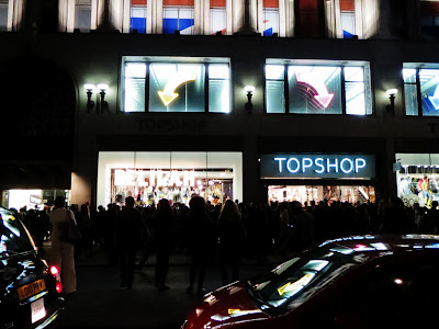Fashion's Night Out Topshop London 2012