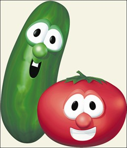 in other words...: Dear Bob and Larry Veggie Tales Larry The Cucumber And Bob The Tomato