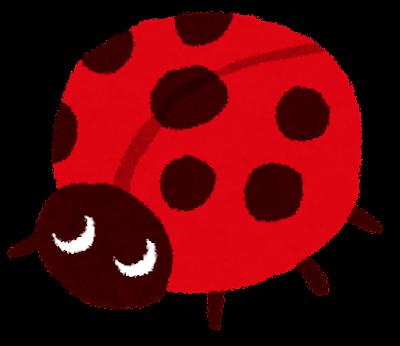 てんとう虫のイラスト