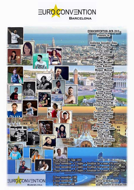Euroconvention Barcelona 2015,  2..3..4..Ottobre a Barcelona