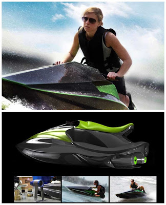 Personal watercraft (PWC) Green Samba
