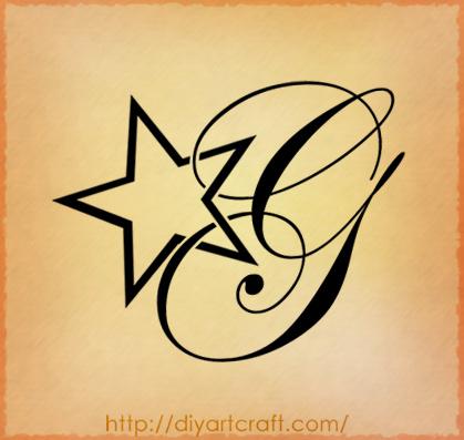 lettera g per tatuaggi pl98 regardsdefemmes