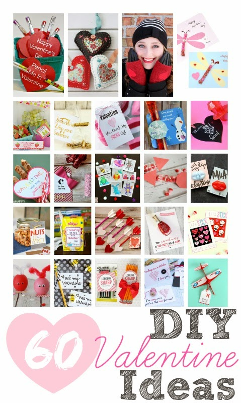 60+ DIY Valentine Ideas