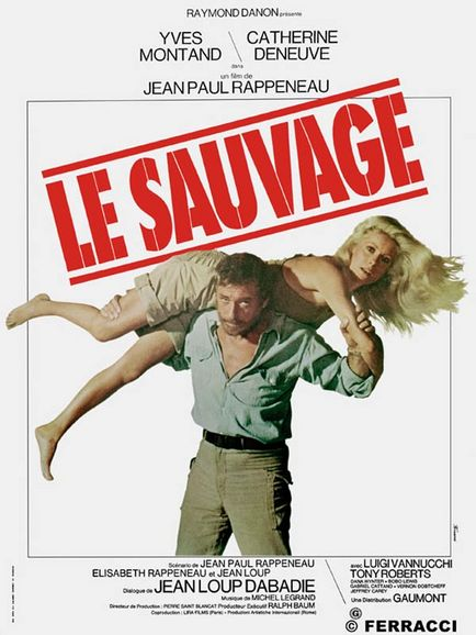 YVES MONTAND en CATHERINE DENEUVE in LE SAUVAGE