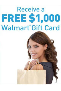 Click Here to Receive Walmart Gift Card!