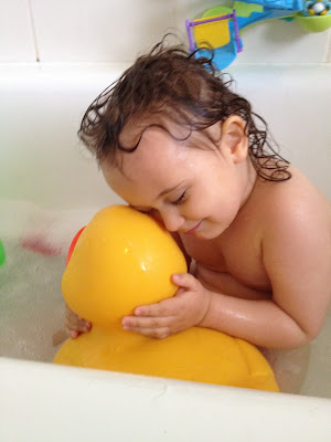 Day 136 of The 366 Project, bathtime fun, ducky