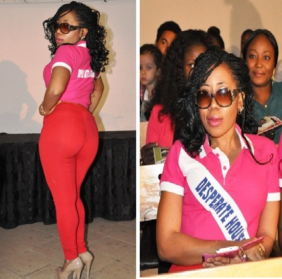 Check Out Moyo Lawal's Hot Butt @ The Launch Of Desperate House Girls Over The Weekend