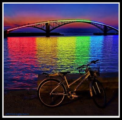 Puente Arco Iris Taiwan • Nuestro Mundo
