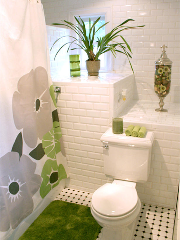Modern furniture colorful shower curtains design ideas 2012 - Deco pour petite salle de bain ...