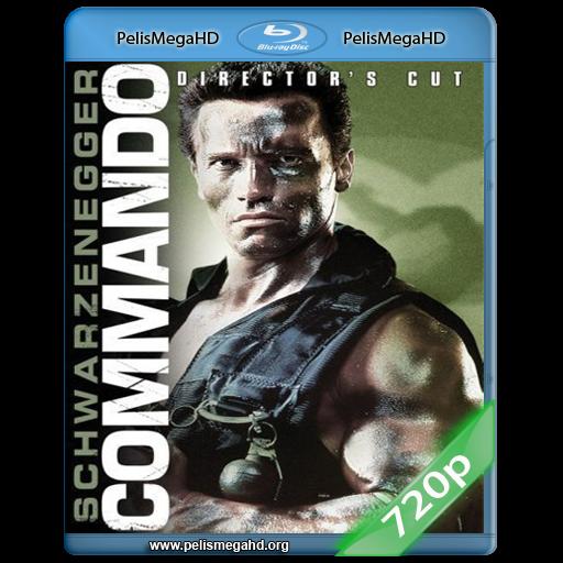 COMMANDO (1985) 720P HD MKV ESPAÑOL LATINO