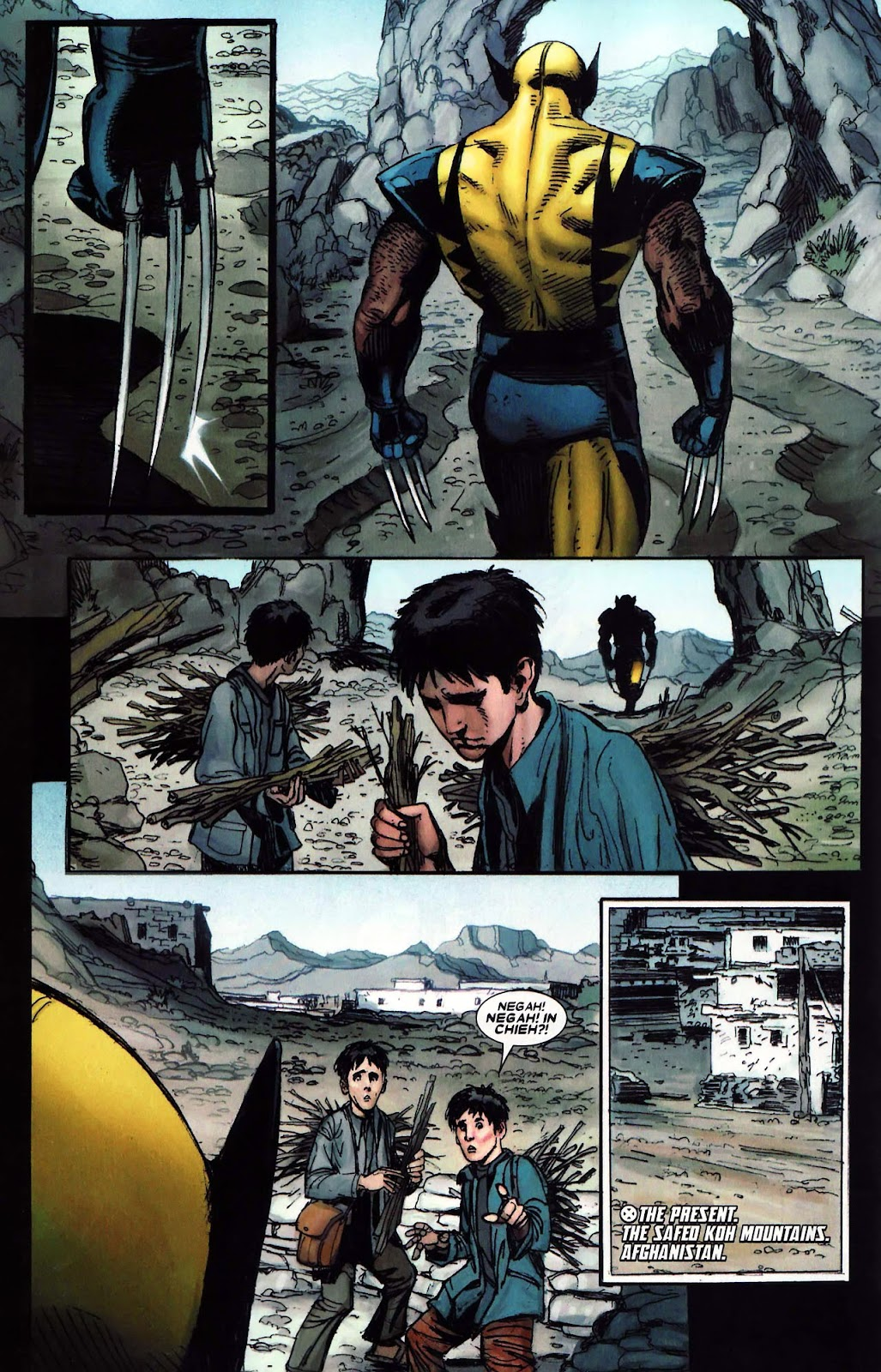 Read online Wolverine (2003) comic -  Issue #62 - 6