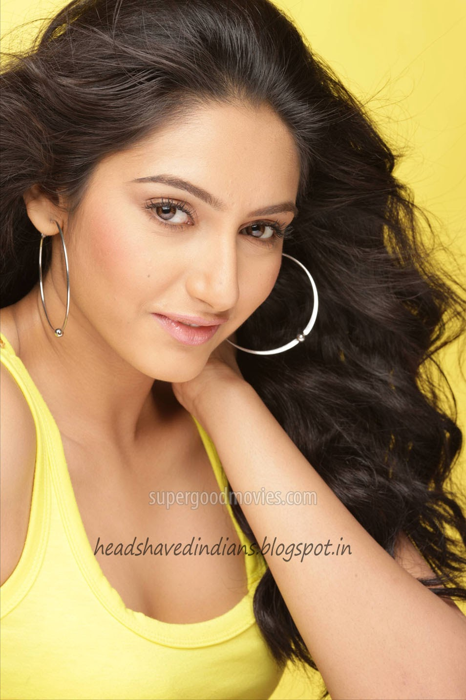 Kannada Actress Ragini Dwivedi Hot Photos Head Shaved