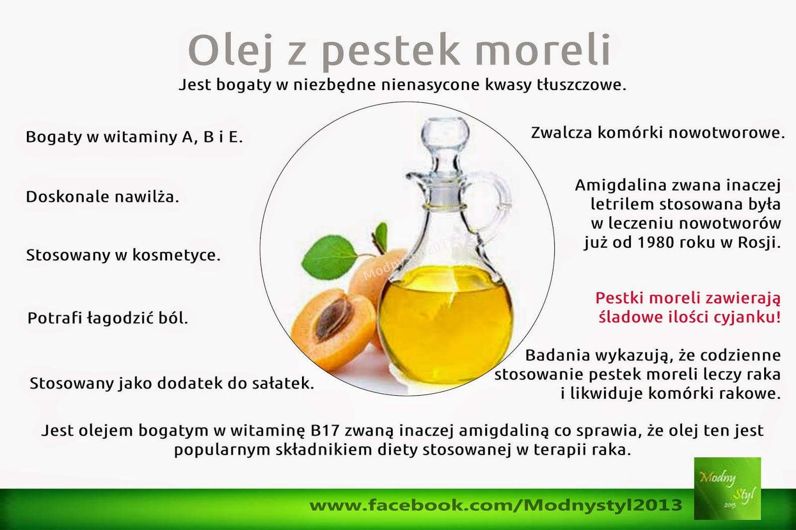 Olej z pestek moreli