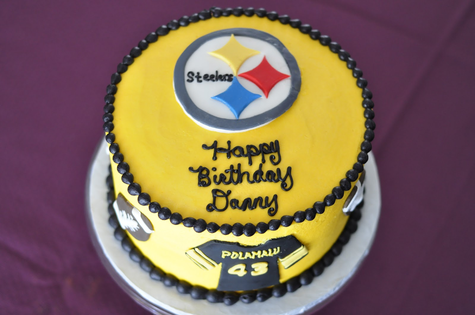 Betty s Batter Blog: Danny s Steelers Birthday Cake