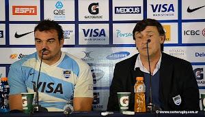 Conferencia de prensa de Los Pumas en Mendoza