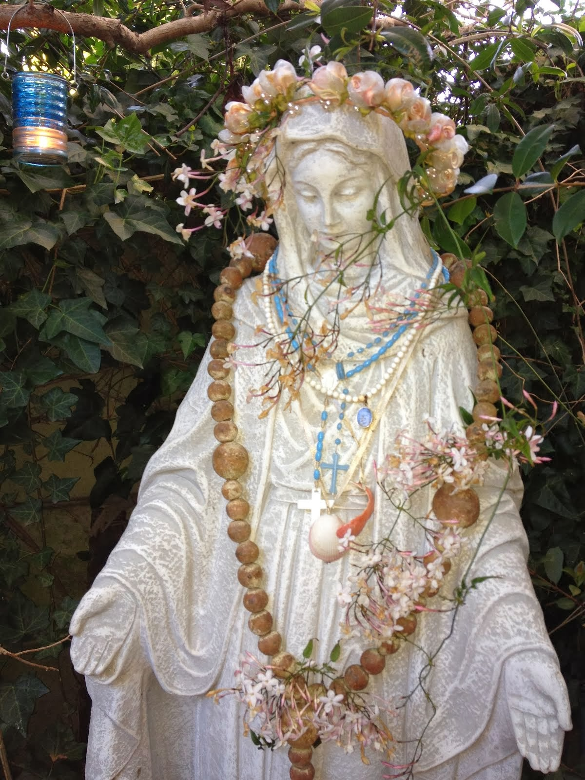 Mary shrine in my garden