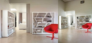rita shelving2 30 of the Most Creative Bookshelves Designs