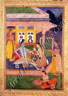 Raga Bhairava Painting