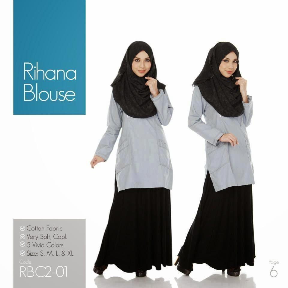 Baju Blouse Cantik Dan Murah Baju Blouse Dan Skirt Labuh 85