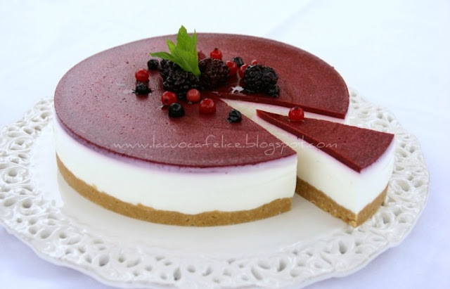 Cheese Cake S Stawberry Sause