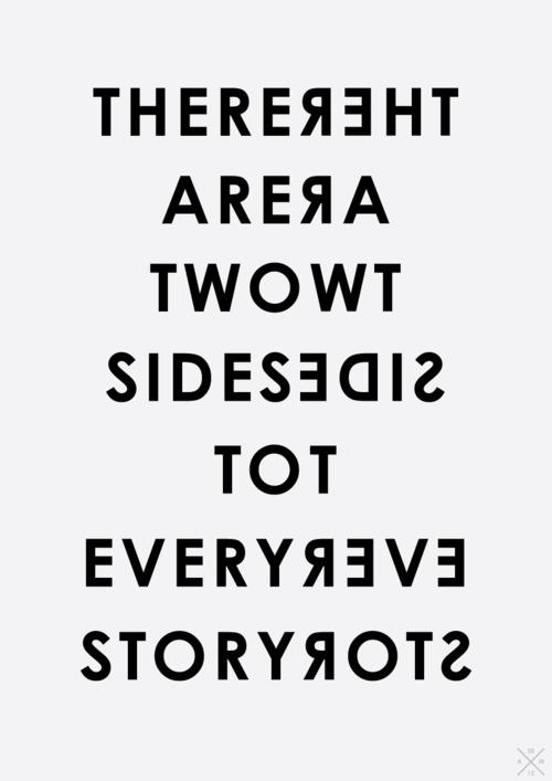 Hi han dues cares a totes les històries