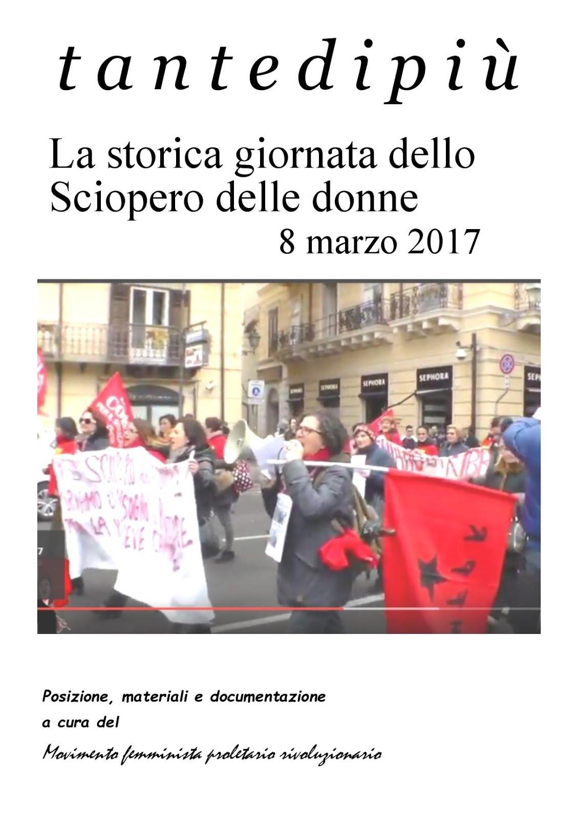 8 marzo 2017 - 3° sciopero delle donne in Italia - Richiedi il dossier a mfpr.naz@gmail.com