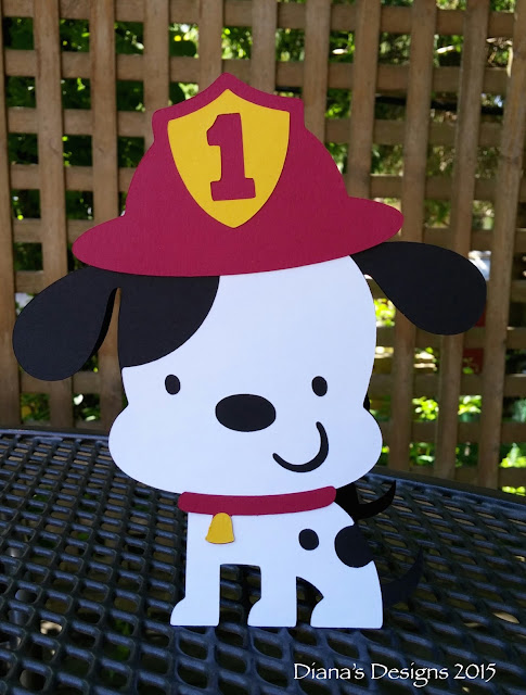 Cricut Create a Critter Dalmatian Invitations
