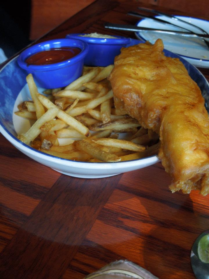 Coolmama 39 s voice on the blog father 39 s day at red lobster 2012 for Red lobster fish and chips