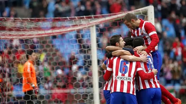 على ابواب ملحمة ميلان اتلتيكو مدريد يضرب بثلاثية ويعود للصدارة