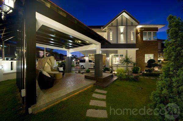 rumah bungalow cantik 2015
