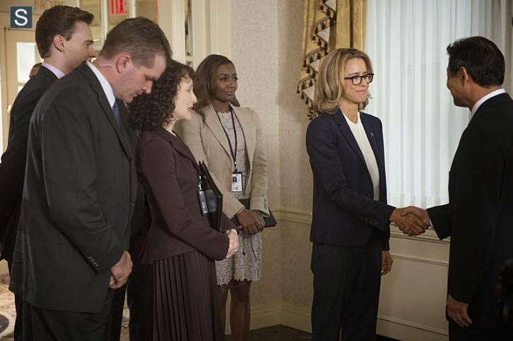"Madam Secretary - Just Another Normal Day - Review: ""This means war"""