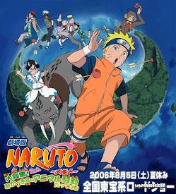 Naruto 3: Revelión animal en la isla de la luna creciente